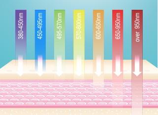 Farbenlicht Wellenlänge