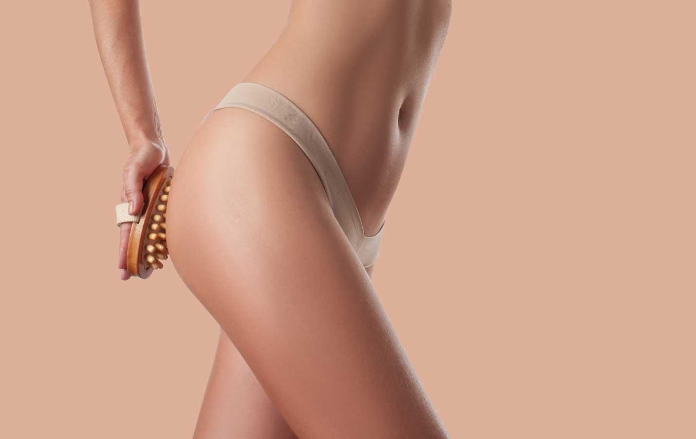 Trackenbürsten gegen Cellulite
